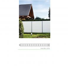 PVC PANEL  500 X 35 mm MF PRIVACY MODEL