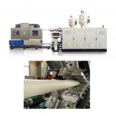 JWSBGL AIR VENTILATION CORRUGATED PIPE EXTRUSION LINE