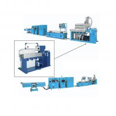COMPLETE EXTRUSION LINE MT FOR PVC PROFILES